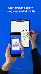 SketchAR: How to draw with augmented reality - náhled