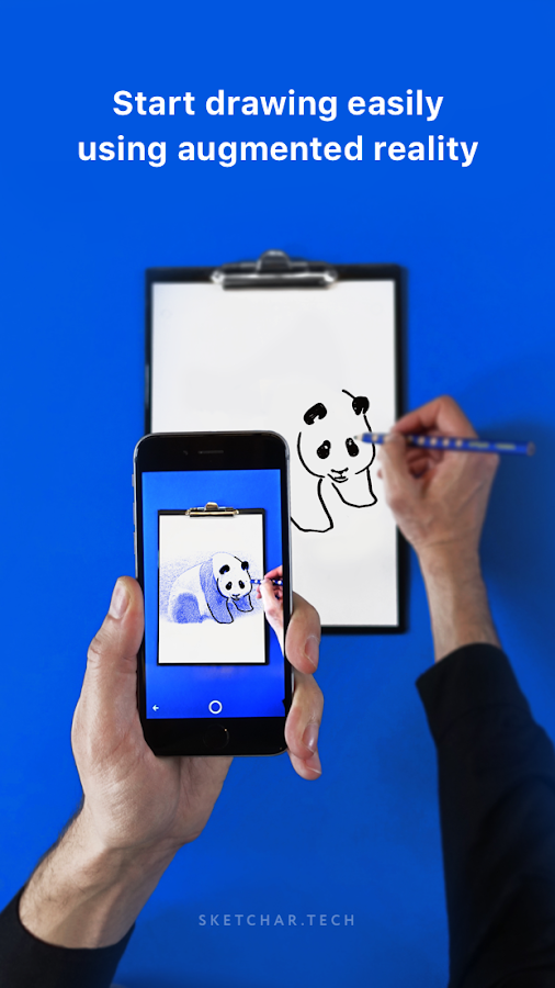 SketchAR: How to draw with augmented reality- screenshot
