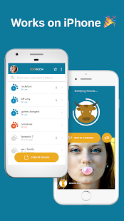 Zooroom: Group Video Call & Live Chat- screenshot thumbnail
