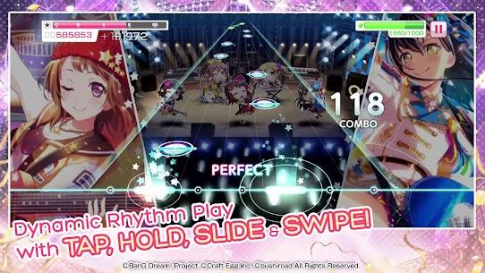 BanG Dream! Girls Band Party! Mod Apk 4.5.0 (Menu Mod + God Mode) 1