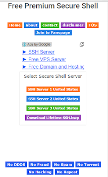 Free Premium SSH
