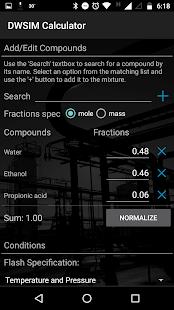 DWSIM Calculator Free - náhled