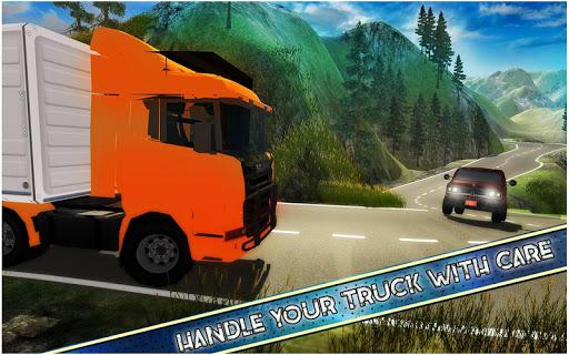 américain euro un camion Simulateur Jeux  captures d'écran 6
