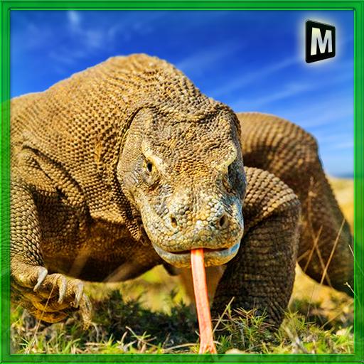 模擬App|野生のコモドドラゴン戦争 LOGO-3C達人阿輝的APP