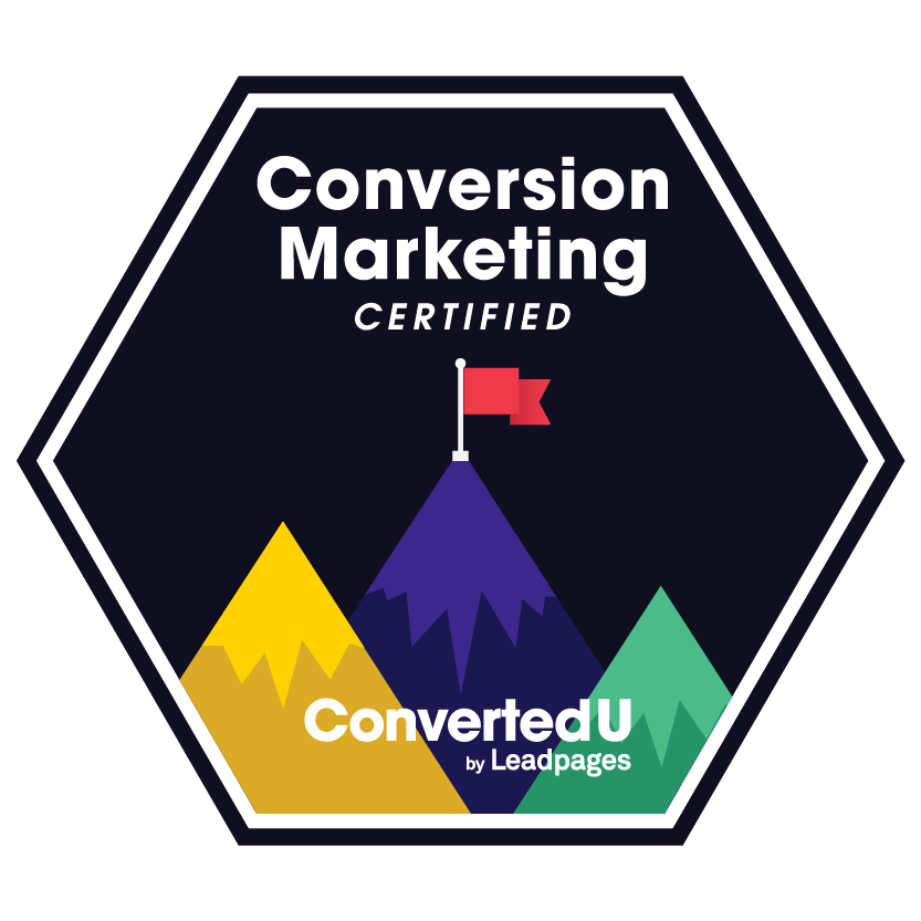 Leadpages Conversion Marketing Certified