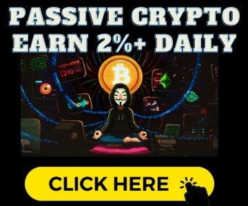 passive crypto earn 2 percent daily josh paiva