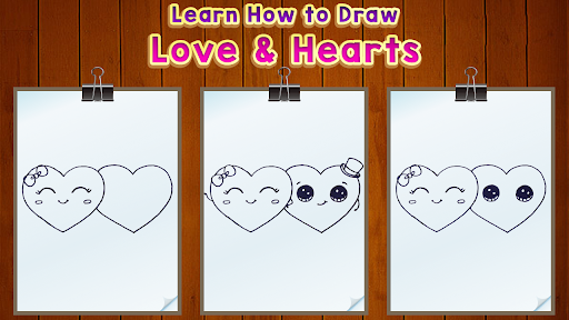 Learn How to Draw Love Hearts for PC