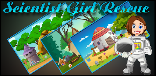 Scientist Girl Rescue Best Escape Game-365 for PC