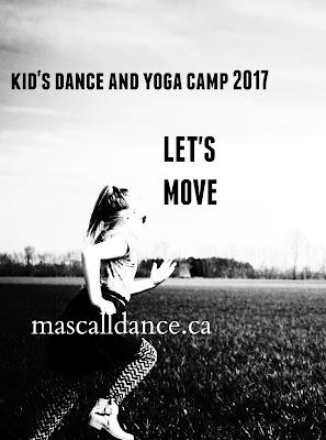 KIDS DANCE AND YOGA CAMP 2017
