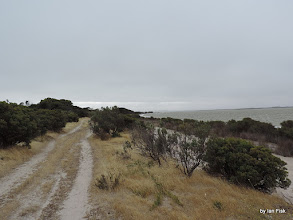 Photo: Morning walk out to the end of the Spit