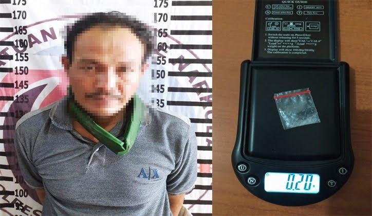 Bawa Narkotika di Depan Warung, Seorang Petani Ditangkap Polres Tulang Bawang