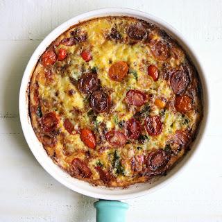 Tomato Kale Gruyere Frittata Recipe