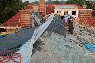 Photo: August 2005 - Month 24: Finishing the rear and moving on to the front of the roof