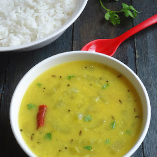 Snake Gourd Moong Dal Curry