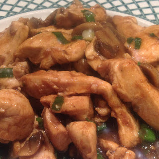 Stir Fry Chicken with Oyster Sauce.
