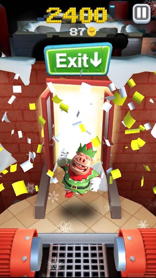 Hog Run - Escape the Butcher- screenshot