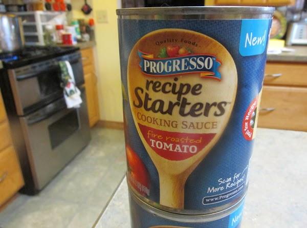 Add Recipe starter & tomato juice. Continue to cook.