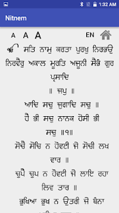 Nitnem - Gurbani (ਨਿਤਨੇਮ) - náhled