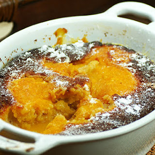 Saucy Orange Pud with Cointreau Recipe
