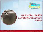 Cab metal parts - Carolina Classics F-100