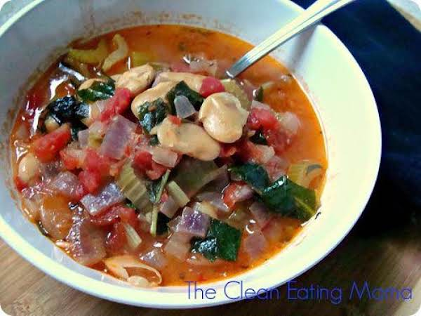 Butter Bean Veggie Soup Recipe