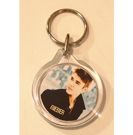 Justin Bieber - Portrait - Nyckelring