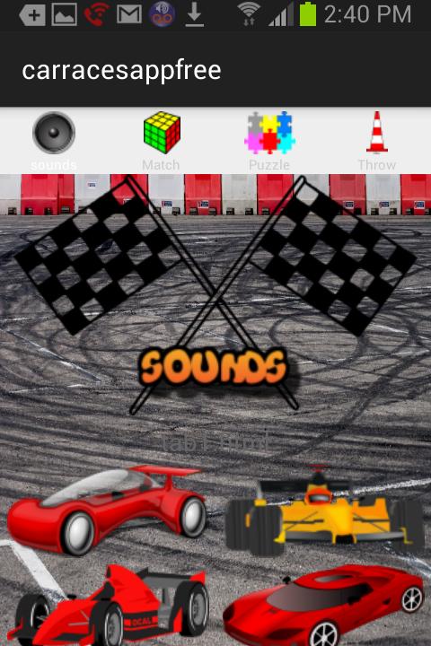 car race games for kids free screenshot