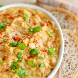 Buffalo Onion Ranch Dip with Chicken.