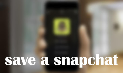 Guide for saving snapchat