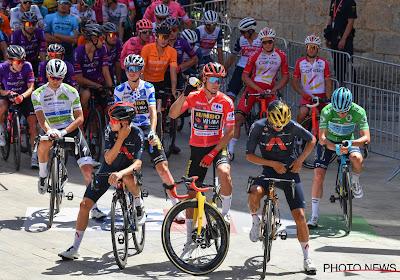 Tiende etappe in de Vuelta heeft voor heel wat veranderingen gezorgd in het algemeen klassement: een overzicht