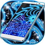 Blue Neon Color Keyboard 1.224.1.82 Apk