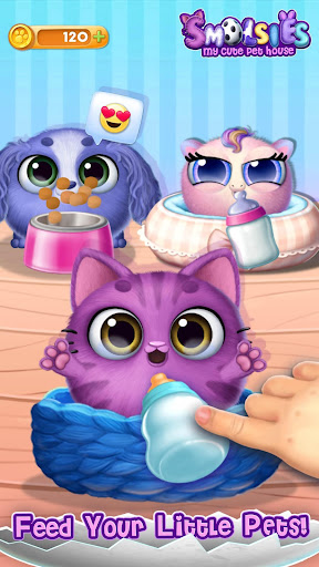 Smolsies - My Cute Pet House 4.0.2 screenshots 8