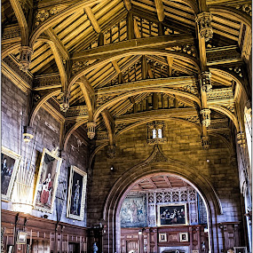 the great hall by Sandy Crowe - Buildings & Architecture Public & Historical ( historical )