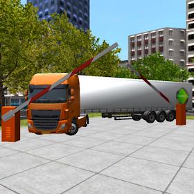 грузовик Стоянка симулятор 3D