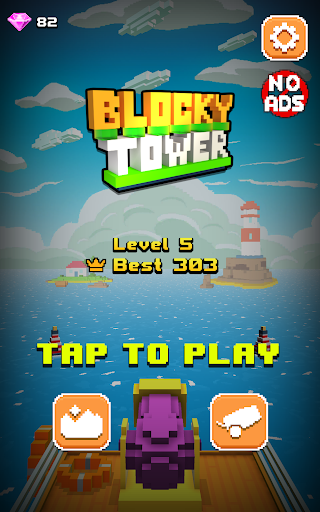 Blocky Tower - Knock Box Balls Ultimate Knock Out android2mod screenshots 12