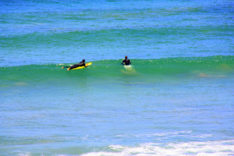 Photo: Year 2 Day 149 -  Surfers Bobbing Around Waiting to Catch the Wave