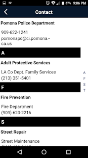 Pomona Police Department- screenshot thumbnail