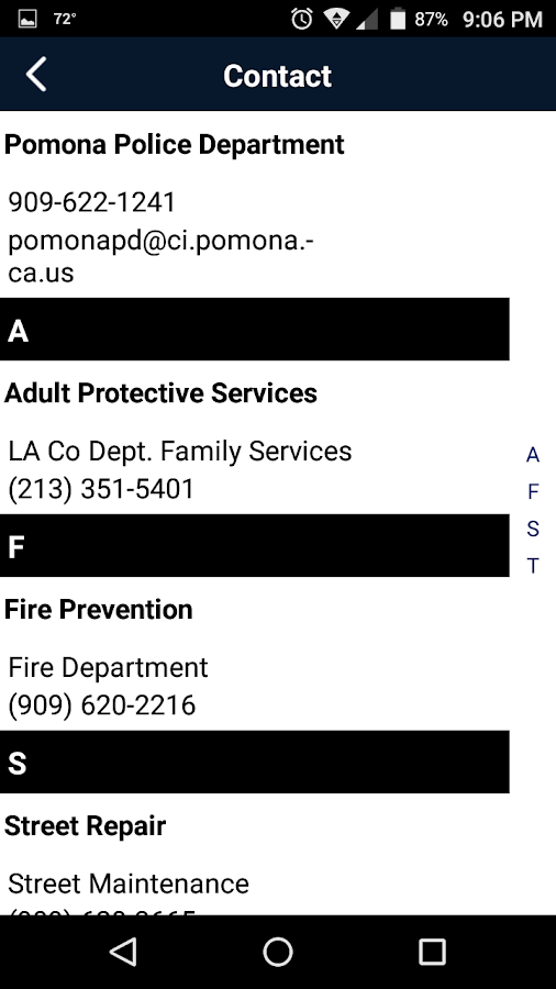 Pomona Police Department- screenshot