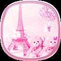 teddy Paris Eiffel Tower theme icon