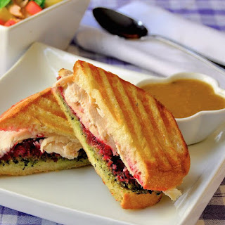 Turkey Dressing and Gravy Panini