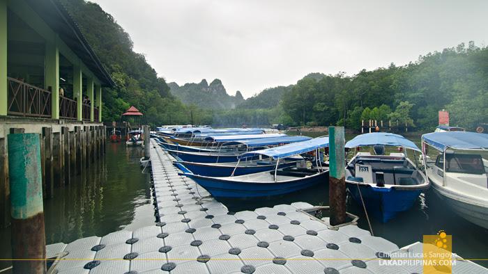 Langkawi Geoforest Park Kilim River Jetty