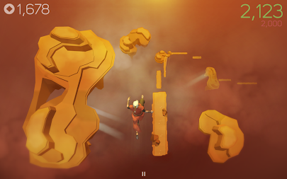 Sky Dancer Run - Running Game APK screenshot thumbnail 1