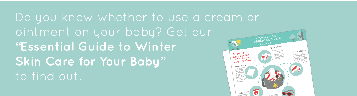 Do you know whether to use a cream or ointment in your baby? Get our