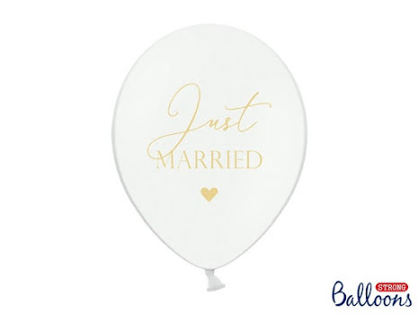 Ballong Just Married, vit