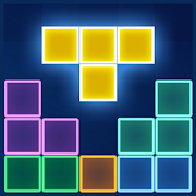 Game Block Puzzle Glow apk for kindle fire