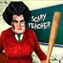 Scary Teacher 3D Creepy Games: Evil Teacher icon