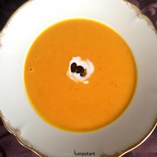 Red Kuri Squash Soup.