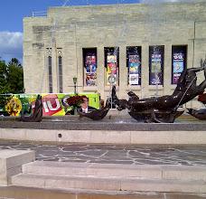 Photo: Bloomington IN YRE-Showalter Fountain, IU Art Museum