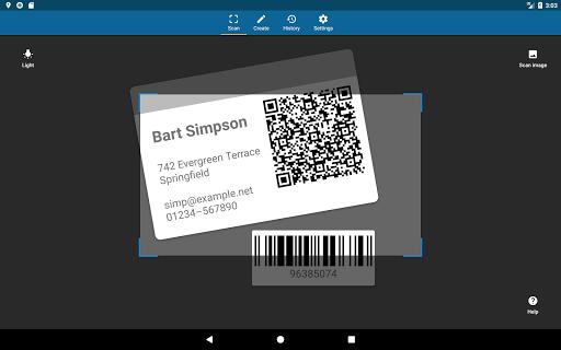 QRbot: QR code reader and barcode reader  screenshots 9