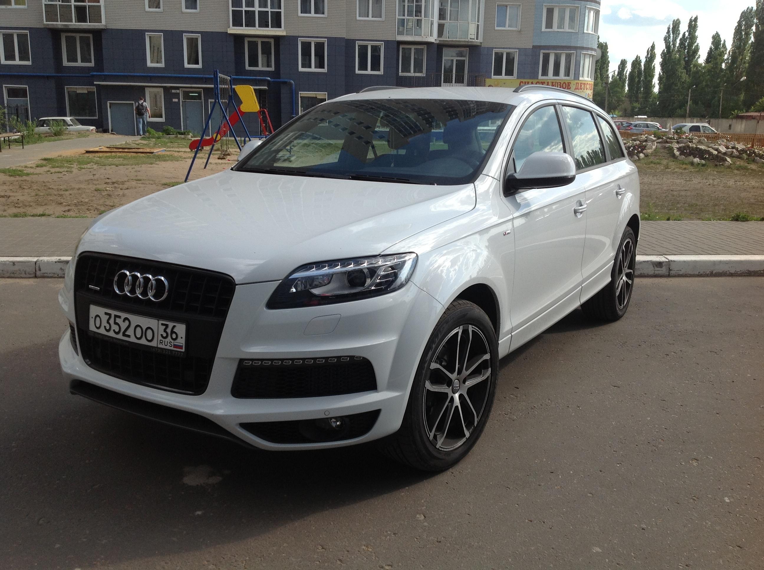 Audi Q7  в Воронеже